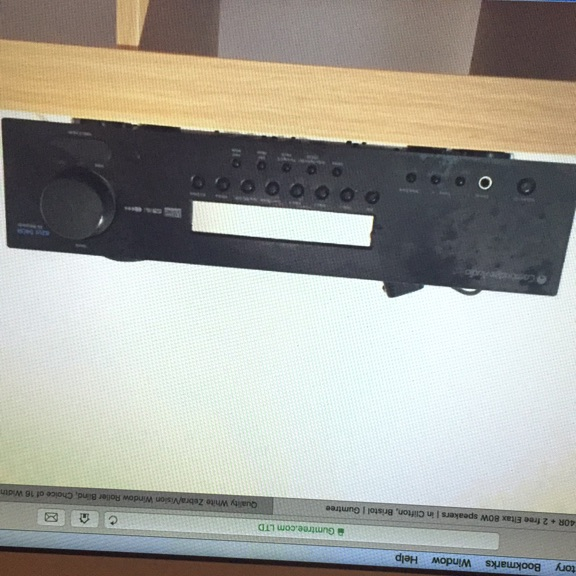Cambridge audio amplifier Azur 540
