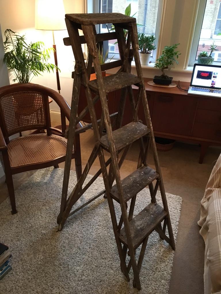 Old vintage ladder