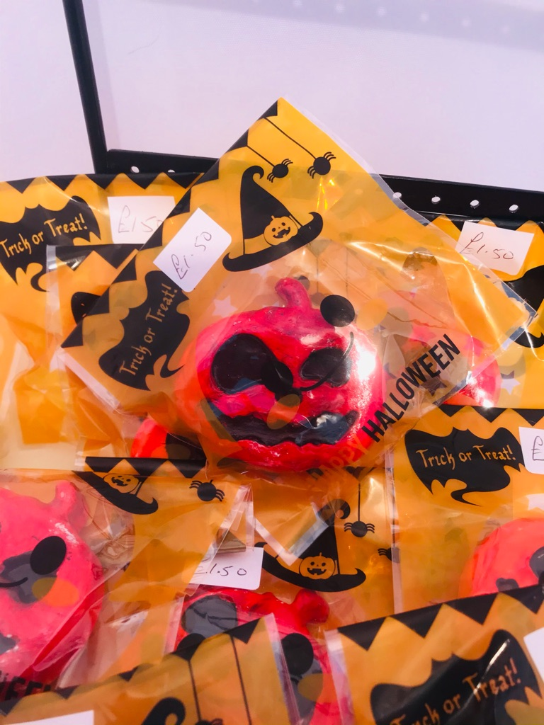 Job lot Halloween magnets