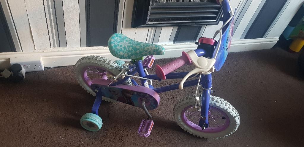"""Frozen 10"""" bike"""