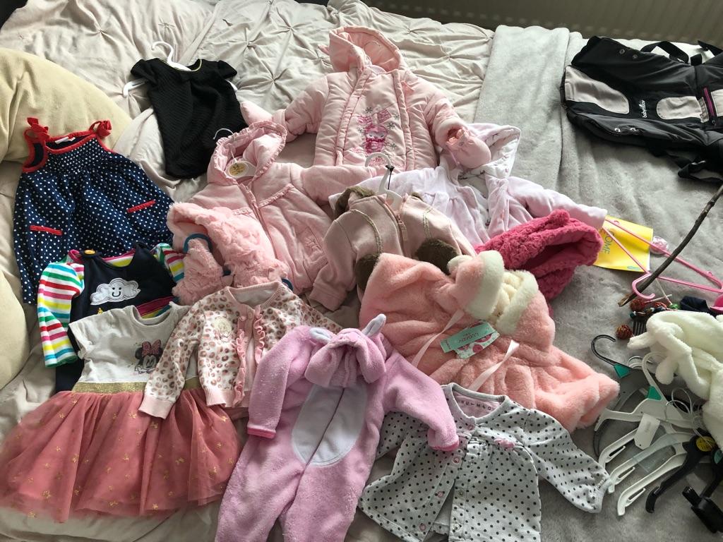 Baby girl bundle 3-6month