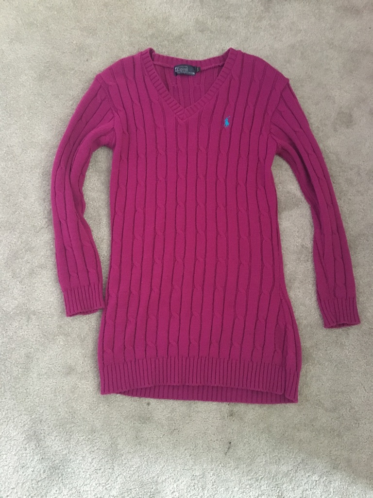 Ralph Lauren type jumpers size small