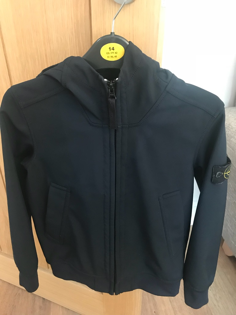Original Stone Island Soft Shell Jacket
