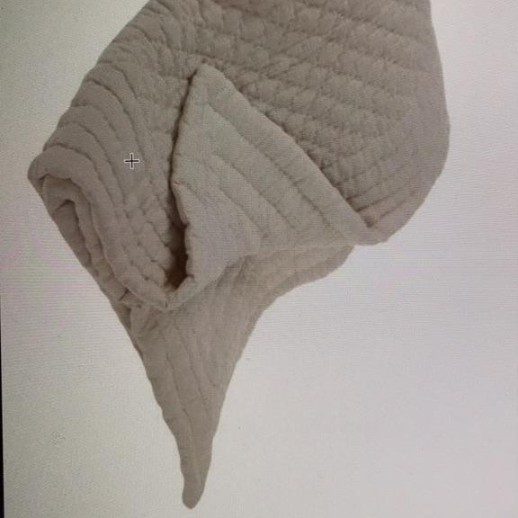 Soak and sleep luxury linen bedspread double 215 x 250 colour sand - NEW
