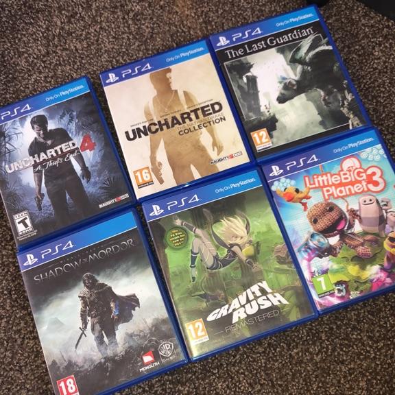 PS4 Bundles - includes 6 games