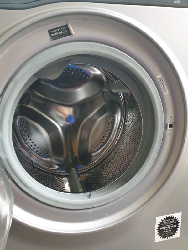 Hotpoint washing machine grey