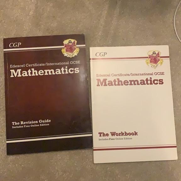 Maths GCSE revision guides