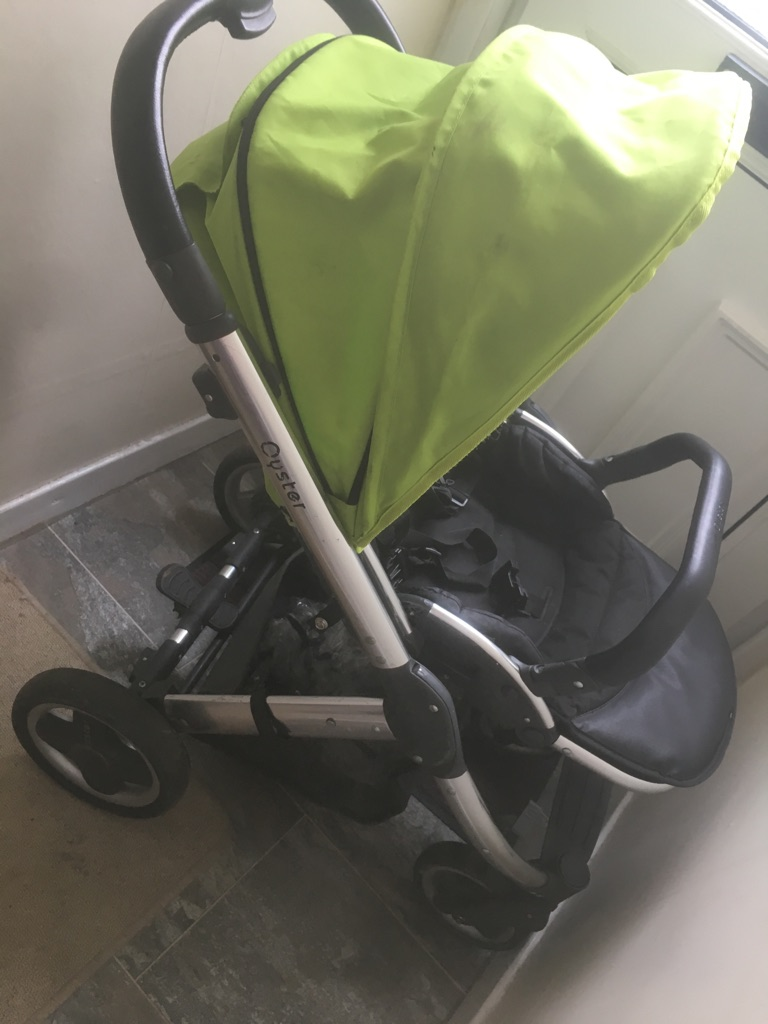 Oyster pram & carrycot