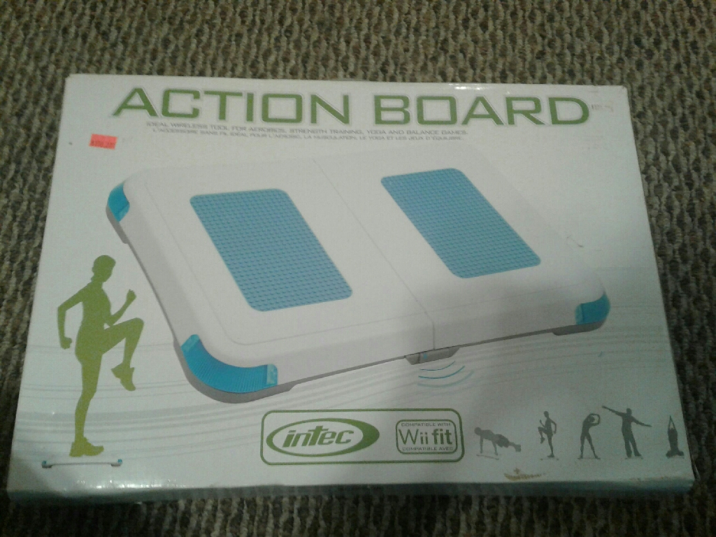 ACTION BOARD FOR WII