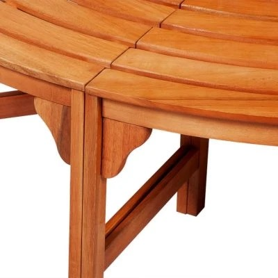 SOLID WOOD TREE BENCH ⭐️