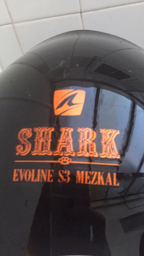 Shark EVOLINE S3 MEZKAL helmet adult size small