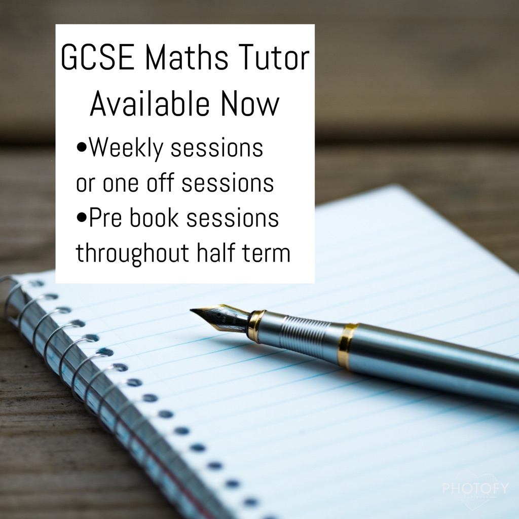 GCSE Maths Tutor