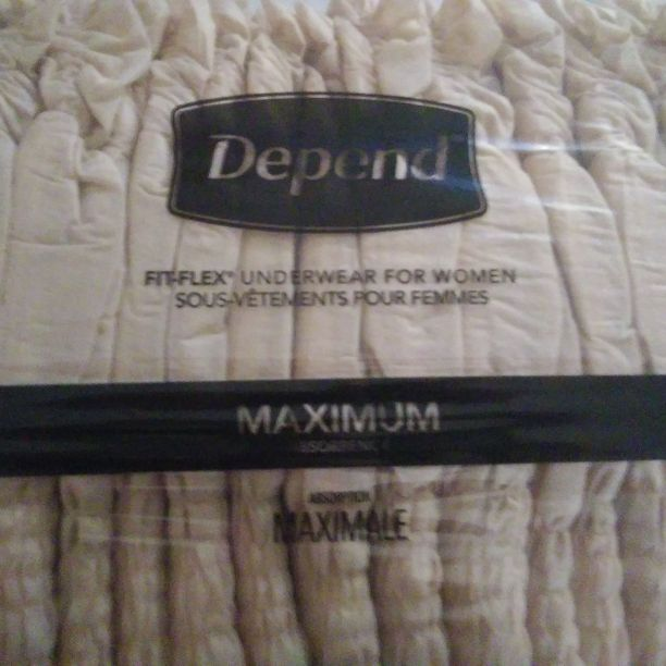 Name brand womens depends