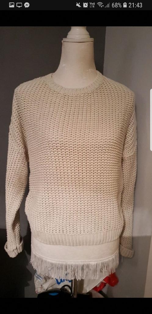 Chunky knit jumper - size 10