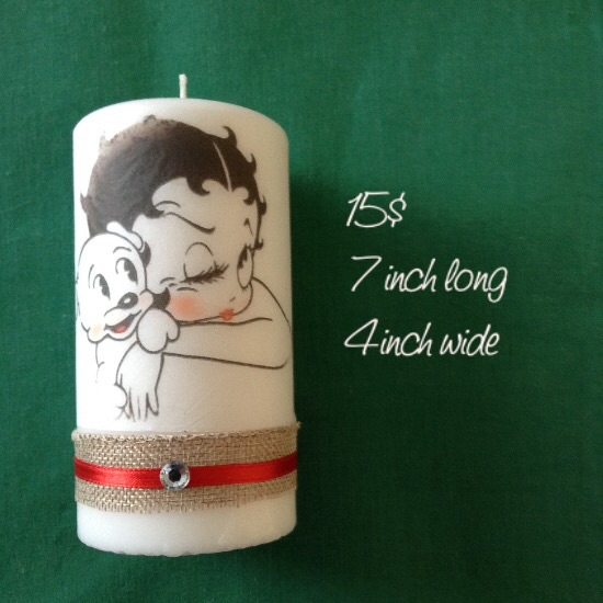 Spencer's personalized candles