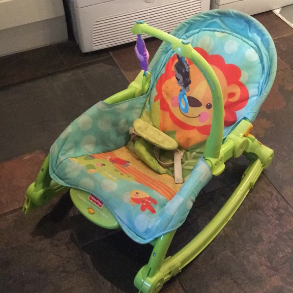 Fisher-Price newborn to toddler rocker chair