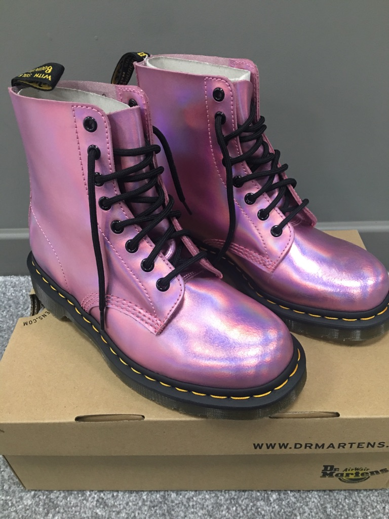 Brand New Metallic Dr Martens size 7