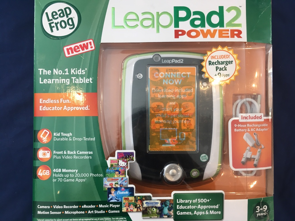 LeapPad 2 Power