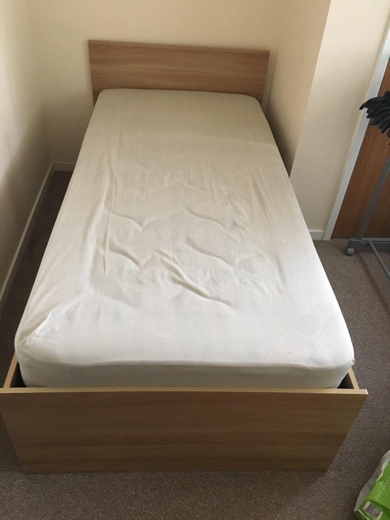 Single bed & mattess
