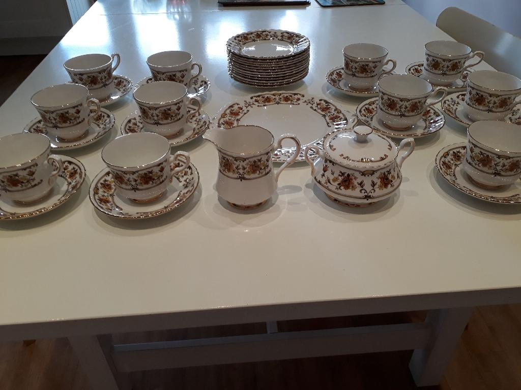 Royal Stafford Bone China Tea Set