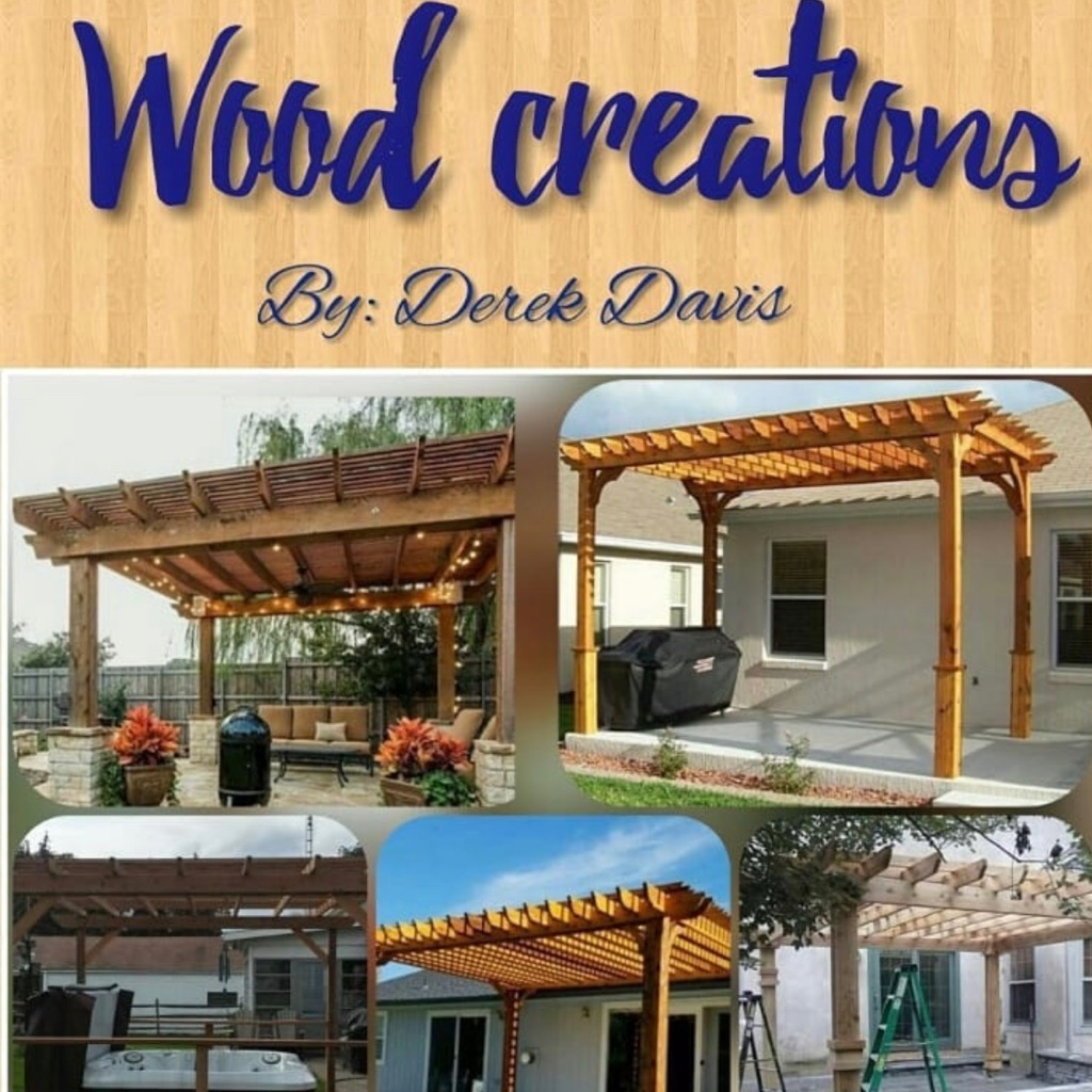 Professionally design and custom build pergolas
