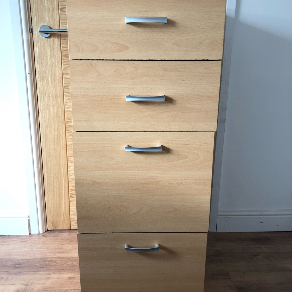 Drawers/filing cabinet