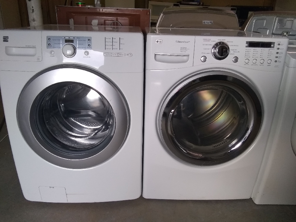 Kenmore washer and LG dryer