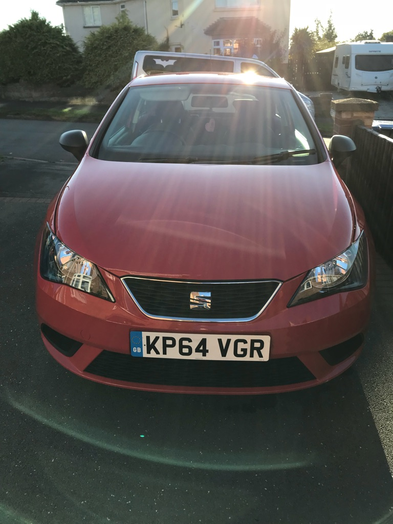 SEAT IBIZA 1.2 3DR 64 PLATE