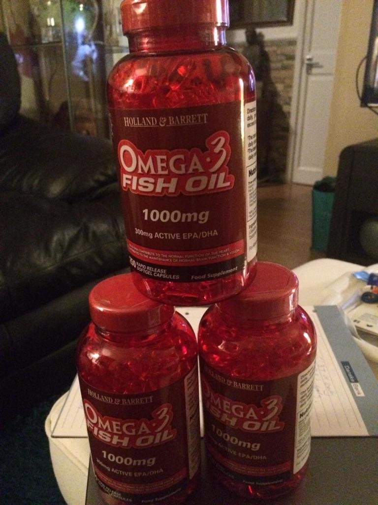 AMEGA 3 fish oil