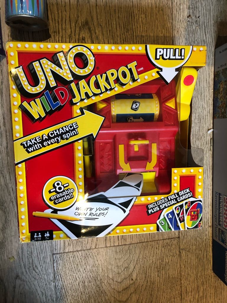 UNO jackpot. New in box