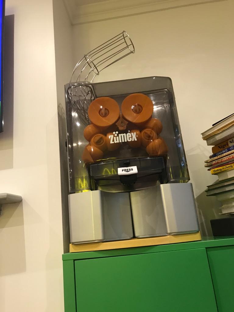 Zumex Orange Juice Machine