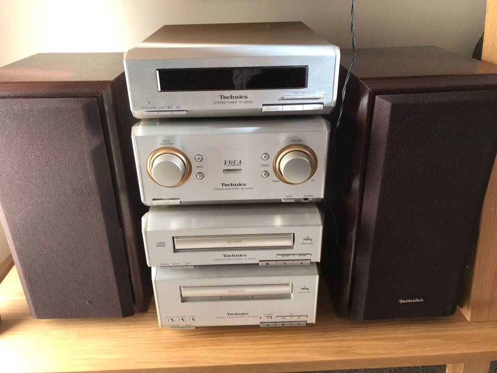 Technics stereo system HD350