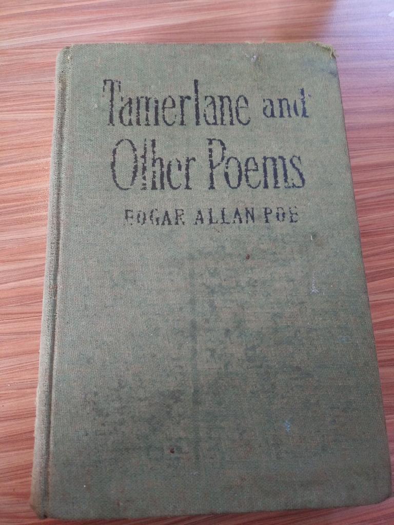 1908 Edgar Allen Poe book