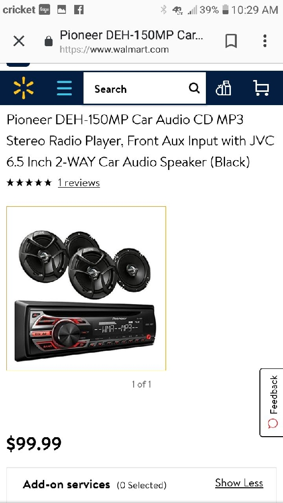 Pioneer car radio Bluetooth
