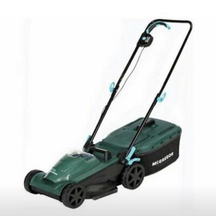 McGregor 34cm cordless lawn mower