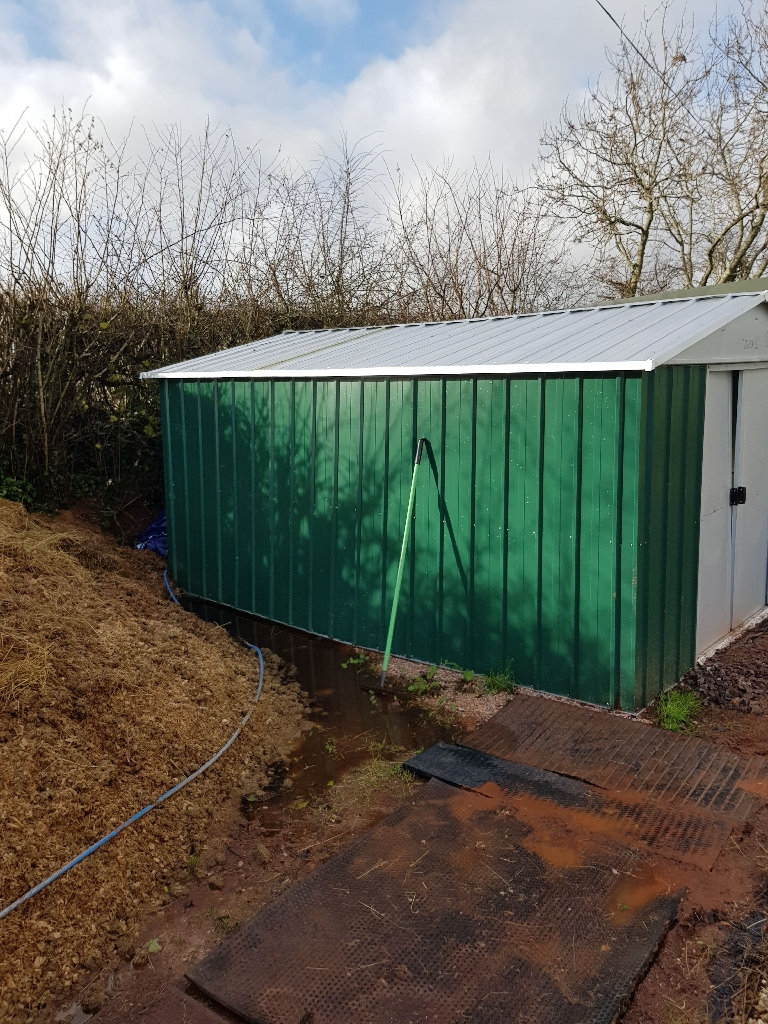 10x13 metal shed