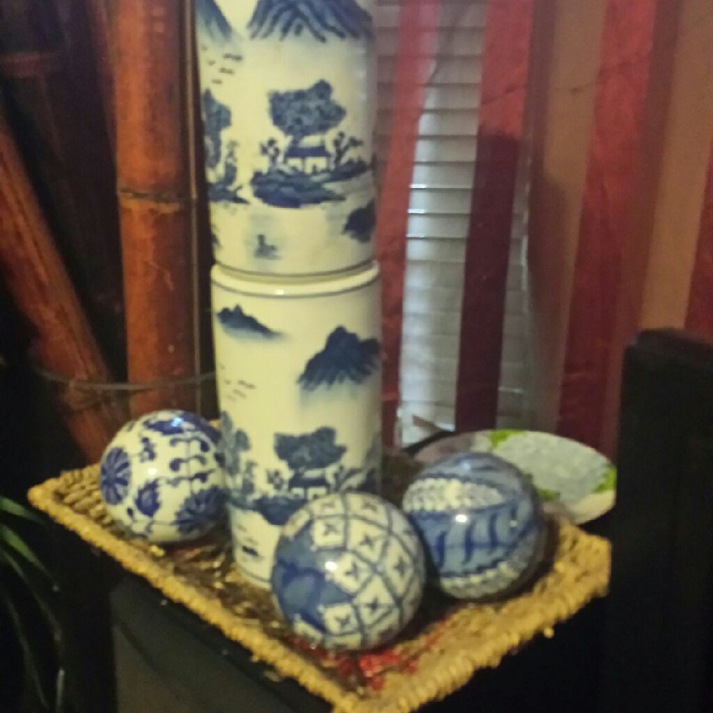 China decor set
