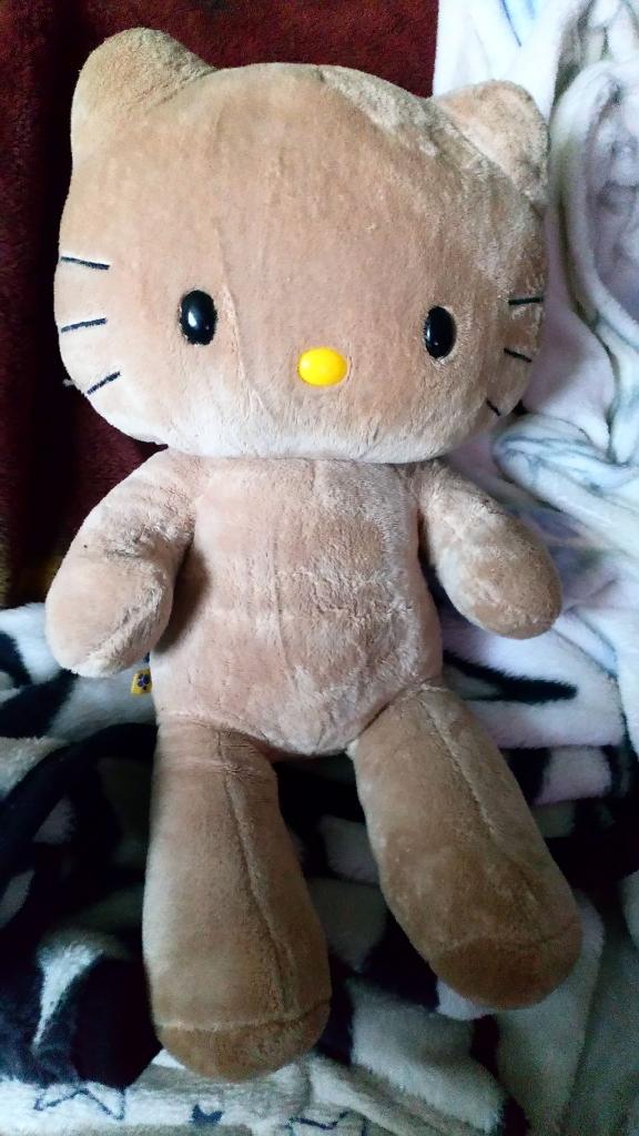 Hello kitty build a bear teddy