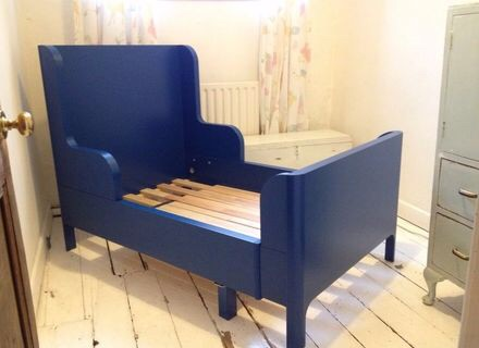 House moving sale: IKEA extendable bed for kids
