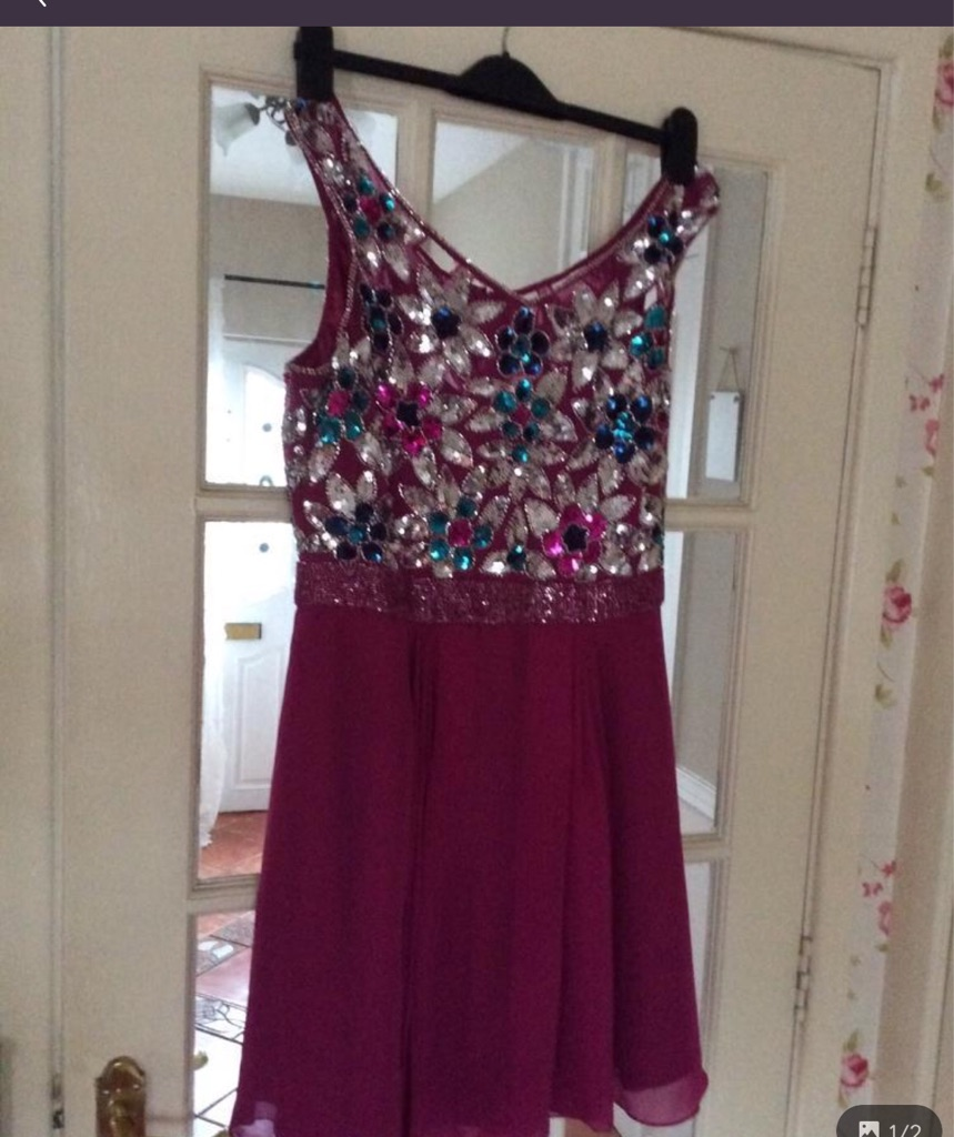Virgo lounge party dresses worn once paid £79 & £85 in sale