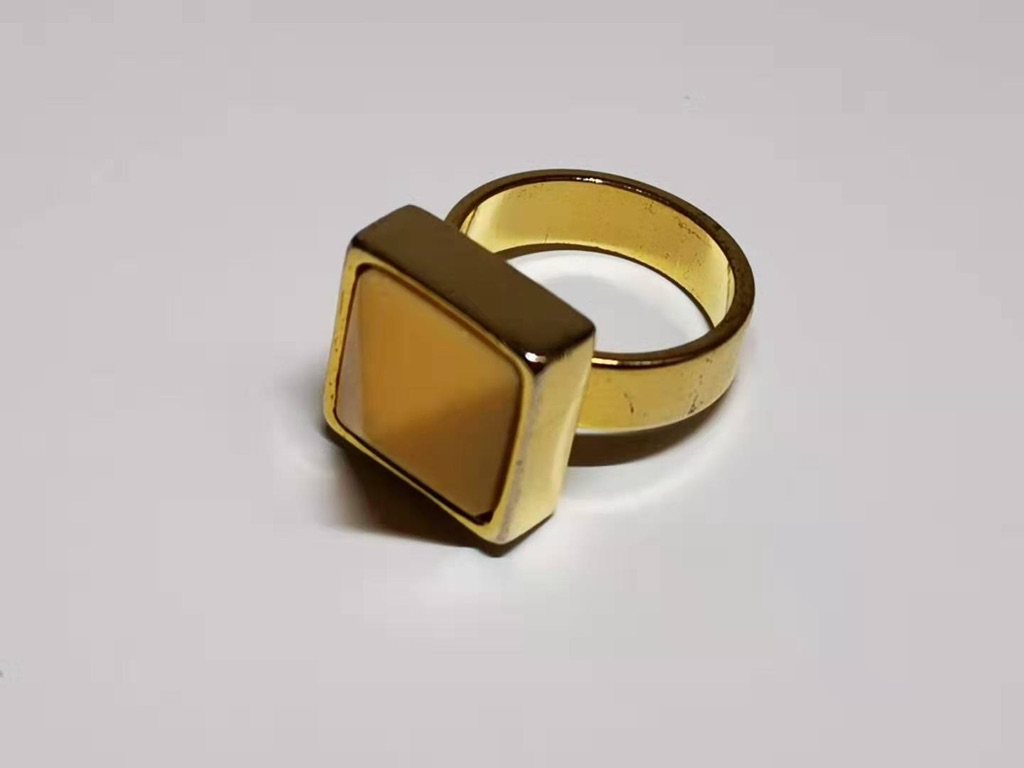 MARNI, Gold Plated Fashion Ring