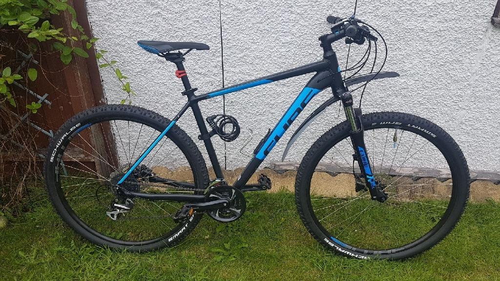 "Cube 21"" men's mountain bike"