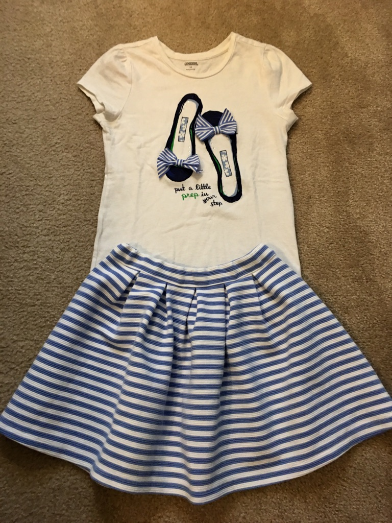 Girl's Outfit, Size 10-12