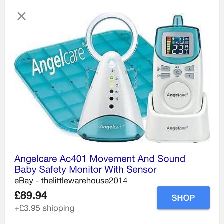 Angelcare monitor and mat