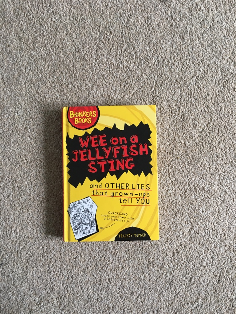 Wee on a jellyfish sting Book