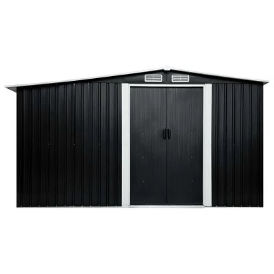 GARDEN SHED WITH SLIDING DOORS
