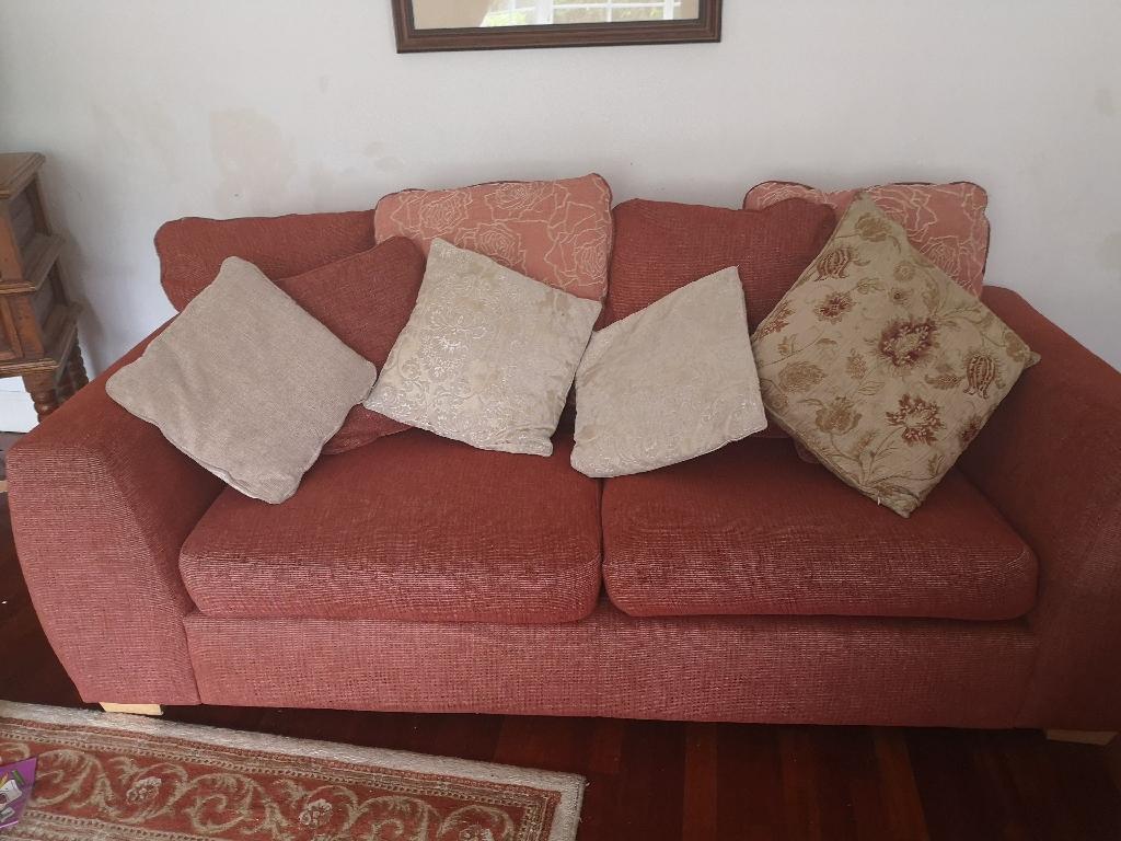 Comfy 3 seater sofa