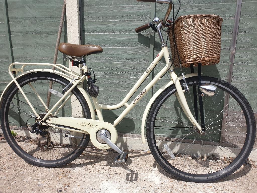 Ladies vintage bike
