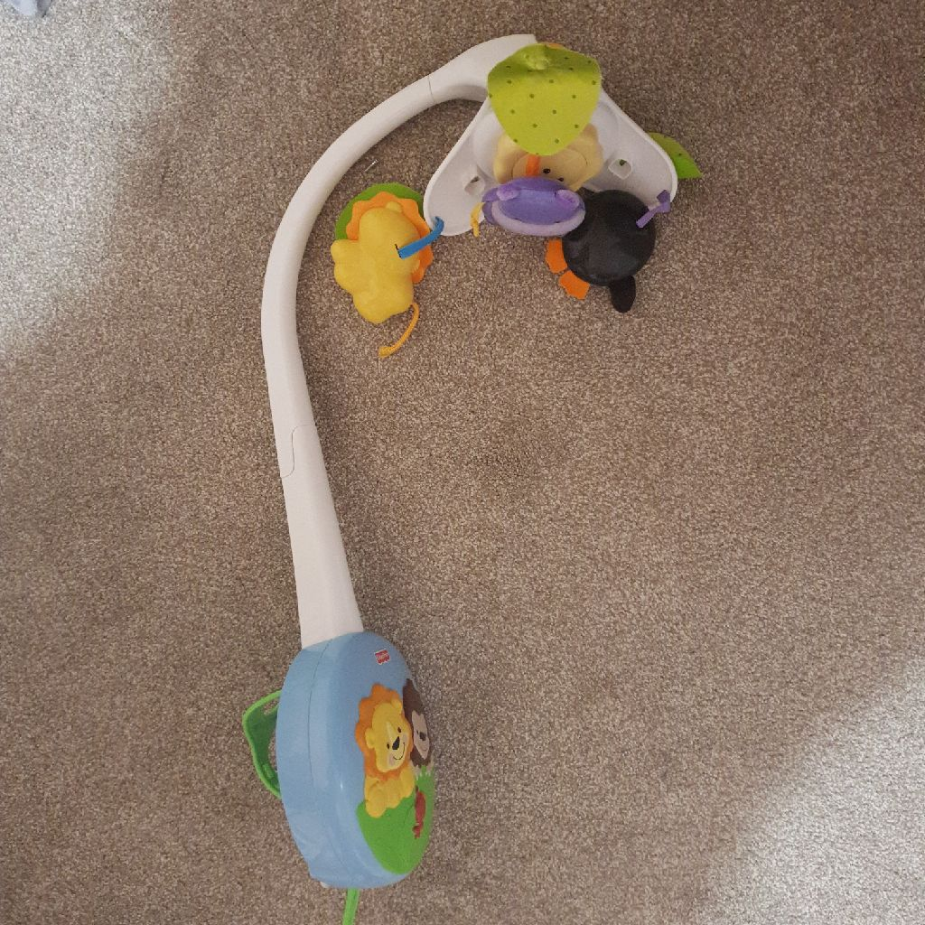 Fisherprice cot mobile