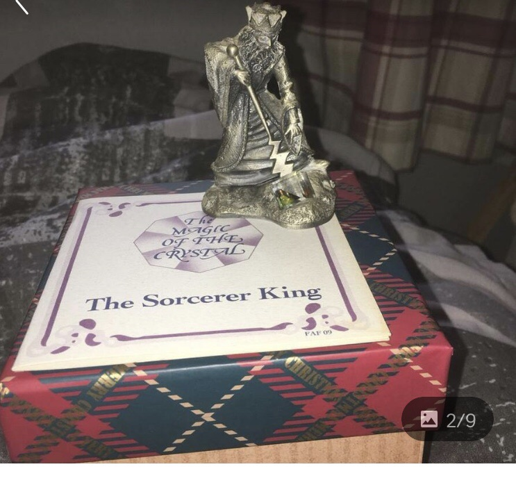 Magic of the crystal collectibles